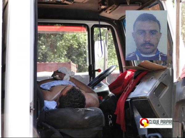 Motorista morre em cabine de caminhão em Piripiri