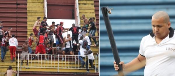 Polícia identifica mais de dez torcedores suspeitos de envolvimento em pancadaria em Joinville
