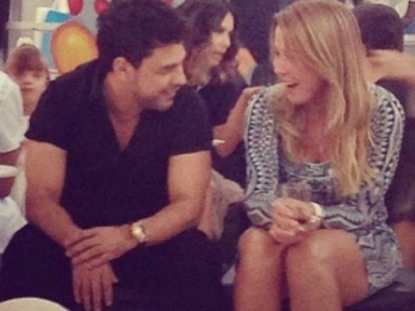 Recaída? Zilu e Zezé Di Camargo são vistos em clima íntimo em festa do neto