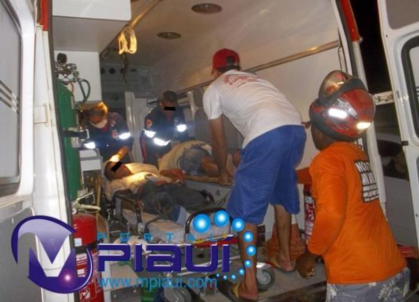 Acidente deixa 2 pessoas gravemente feridas no PI