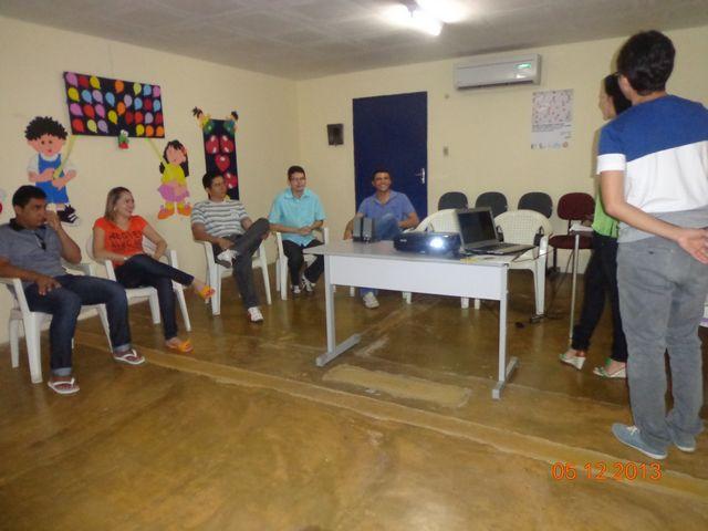 Reunião promovida pelo PELC São José do Divino