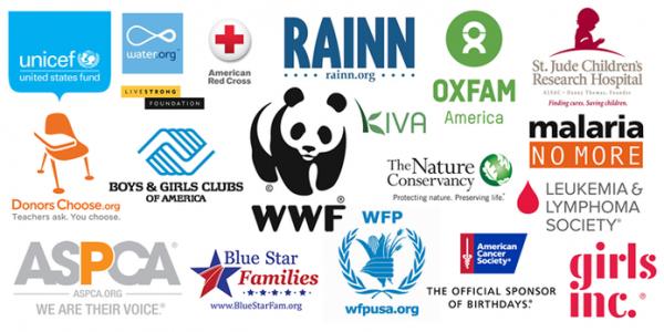 Novo botão do Facebook permite fazer doações para ONGs internacionais