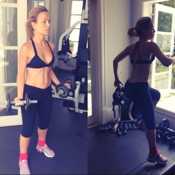 Eliana mostra o corpão em dia de treino e zumba:
