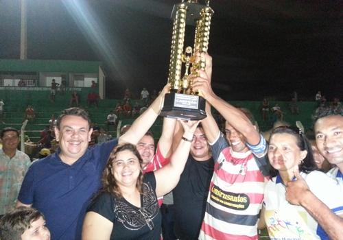 Santa Cruz é o campão 2013 do campeonato altoense de Futebol