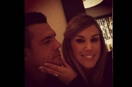 Joana Prado e Vitor Belfort comemoram 10 anos de casados