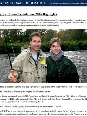 Pai de Sean Goldman publica foto do garoto, já pré-adolescente, em site