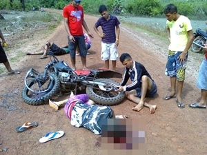 Jovem morre em acidente de moto na zona rural de Campo Largo
