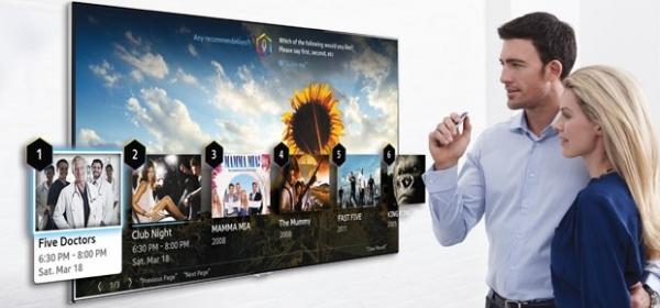 Samsung resume controles de gestos e voz em novos televisores