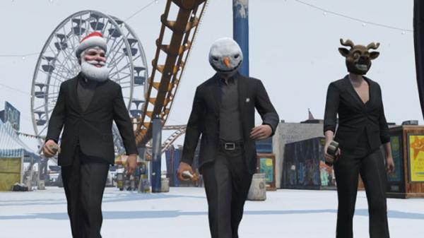 GTA Online ganha atualização de Natal com neve, roupas e filtros nas fotos