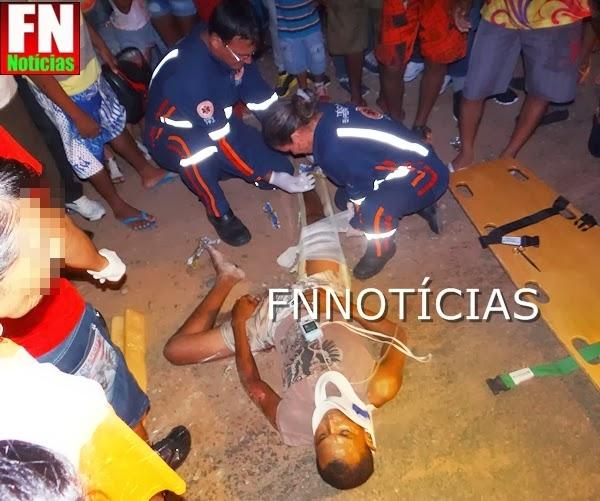 Motoqueiro vitima de acidente em Paulistana na véspera de Natal morre a caminho de Teresina