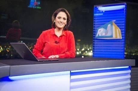 Apresentadora do Bom Dia Brasil passa mal e deixa jornal antes do término
