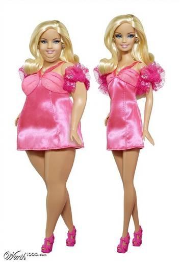 Polêmica: Imagem de Barbie plus size provoca debate em rede social