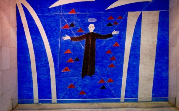 Restauração de afresco de Volpi no Itamaraty será analisada; veja fotos de murais do artista
