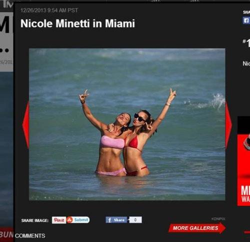 Dançarina que foi condenada a cinco anos de prisão curte praia em Miami