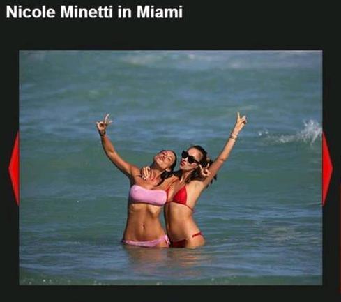 Dançarina de festas de Berlusconi condenada a 5 anos de prisão curte praia em Miami