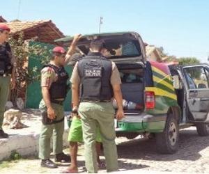 Homem é preso acusado de roubar residência da sogra em Parnaíba