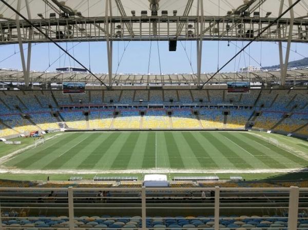 Maracanã ganha novo gramado para ano que será palco da final da Copa