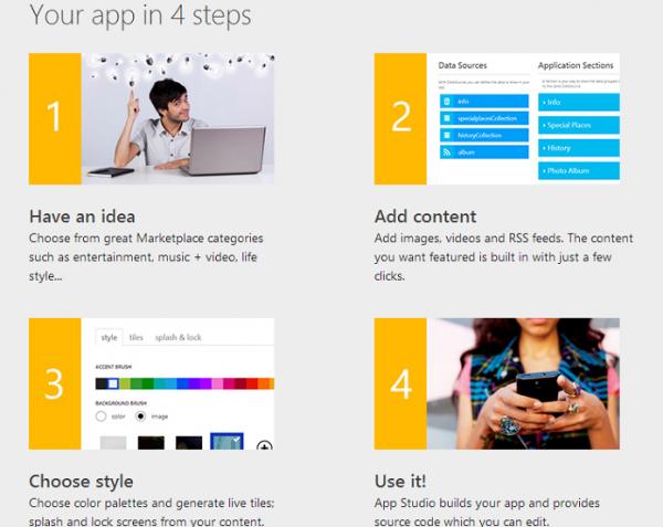 Microsoft lança estúdio de criação de aplicativos para Windows Phone