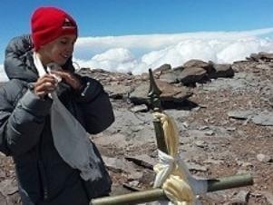 Menino de 9 anos se torna o mais jovem a escalar o maior pico das Américas