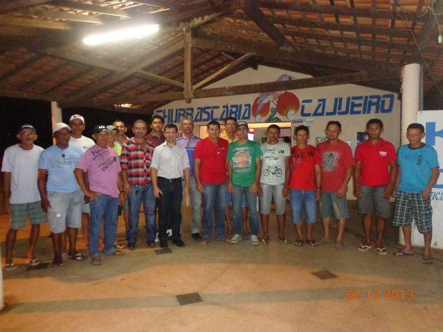 Prefeito Zé Sena homenageia o SEBRAE/PI pelo apoio que a Instituição deu á 25ª Festa do Leite