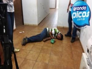 Homem que ia prestar queixa desmaia na delegacia em Picos