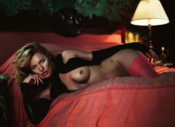 Vaza na web ensaio completo da Playboy de Kate Moss