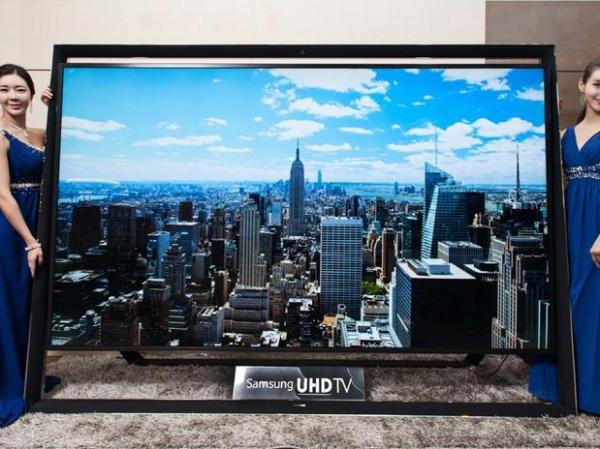Samsung lança TV Ultra HD de 110 polegadas com  2,5 m de largura e 1,8 m de altura