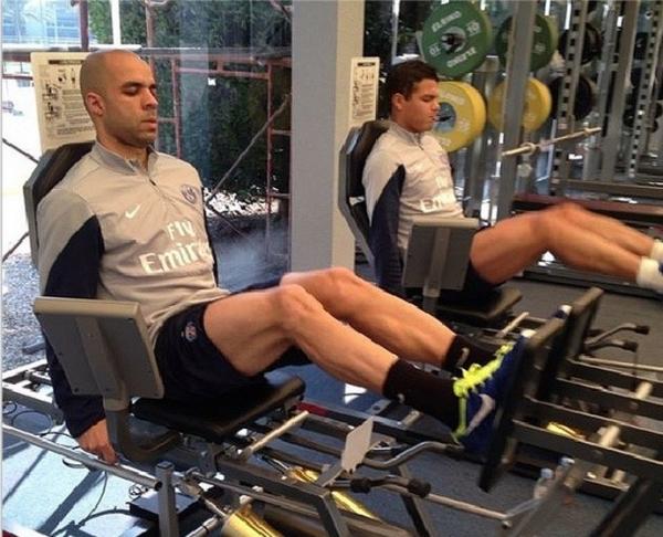 Thiago Silva se prepara para partida no Qatar: