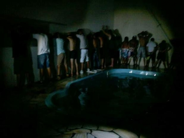 Cuca tem casa de praia invadida de madrugada por 26 pessoas