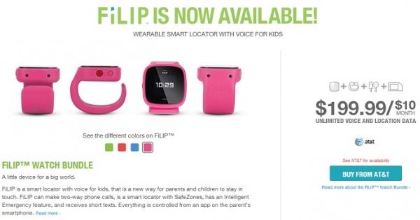 Conheça Filip, o relógio inteligente especialmente feito para crianças