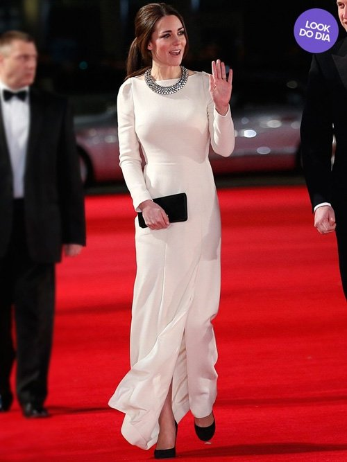 Look do dia: Kate Middleton brilha em première de filme em Londres; foto!