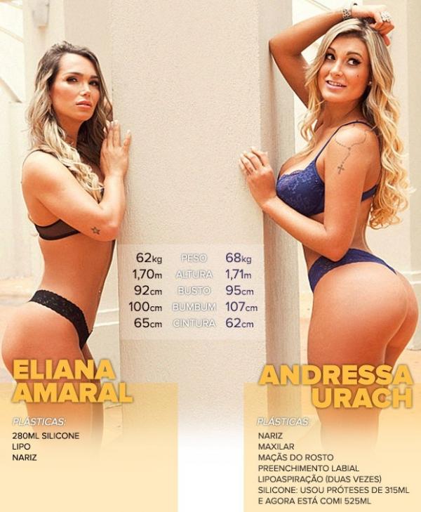 Andressa Urach dá dicas para vice Miss Bumbum 2013 bombar como ela