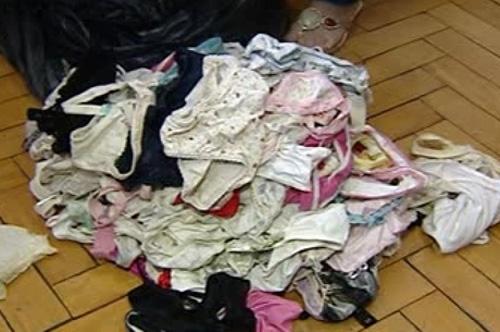 Suspeito de pedofilia é preso com coleção de calcinhas de crianças