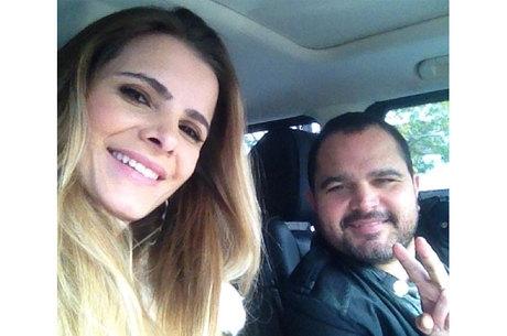 Luciano Camargo diz a jornal que deseja passar fim de ano fazendo amor com a mulher
