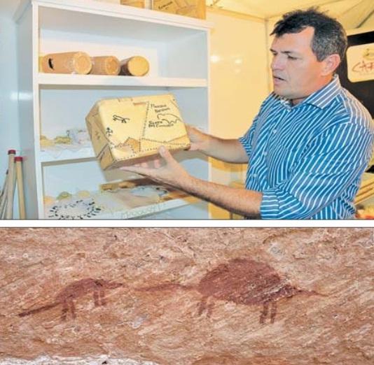 Parque da Serra Confusões possui acervo de pinturas rupestres exclusivas na região