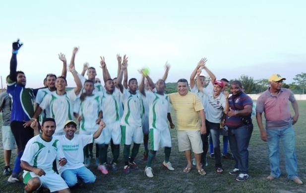 Seleção de Regeneração/PI campeão da copa Ampar