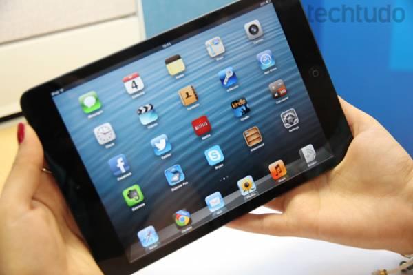 iPad 5 será o mais fino já lançado, graças à tecnologia do iPad mini