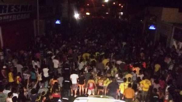 Arrastão bate novo recorde no carnaval de Floriano