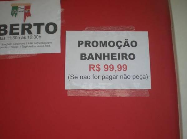 Ida ao banheiro chega a custar R$ 99,99 no carnaval de Olinda