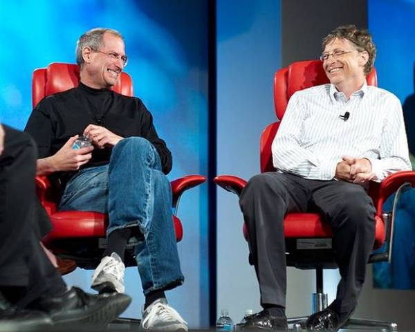 Bill Gates fala de Steve Jobs e o que faria se Microsoft desse errado