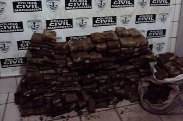 Polícia prende casal com 100kg de maconha em Timon