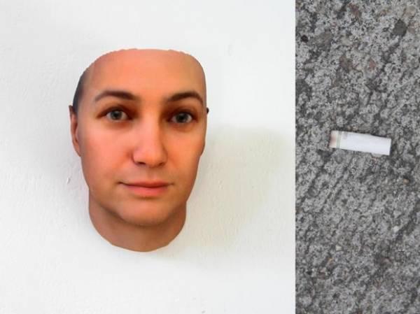 Artista usa software e DNA de ponta de cigarro para recriar rostos