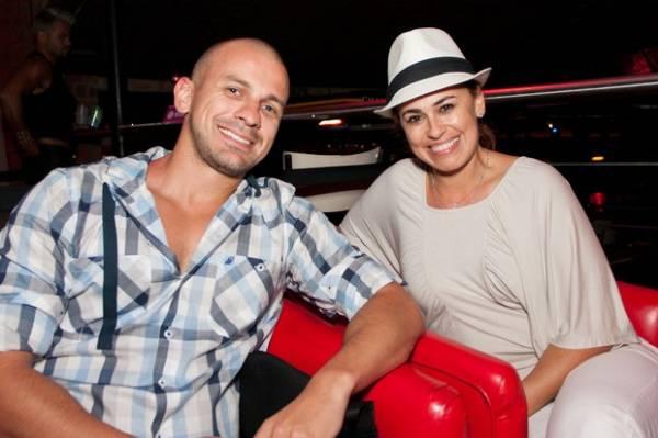 Babi Rossi acompanha Olin em noite de trabalho do herdeiro de Eike