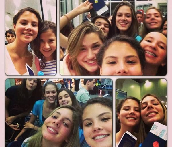 Sasha foge da folia do Carnaval e viaja com amigos para os EUA
