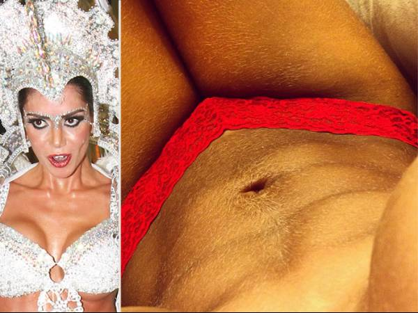 Graciella Carvalho defende barriga peluda: