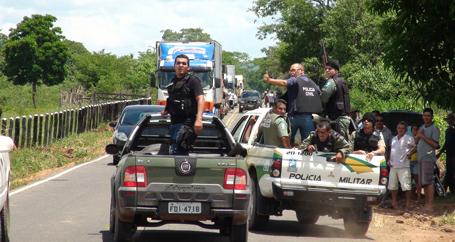 Polícia fecha cerco aos assaltantes de agências bancárias de Bom Jesus/PI