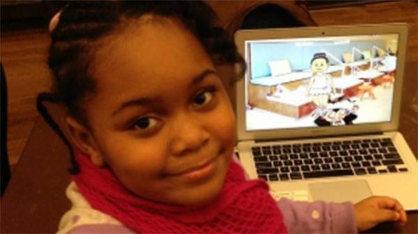 Menina de 7 anos vira a mais jovem criadora de games para smartphones