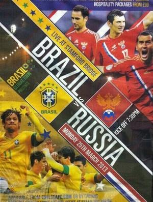 Cartaz de amistoso entre Brasil e Rússia coloca Kaká entre jogadores