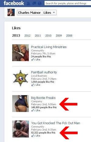 Político cria polêmica ao curtir loucos por bumbum no Facebook