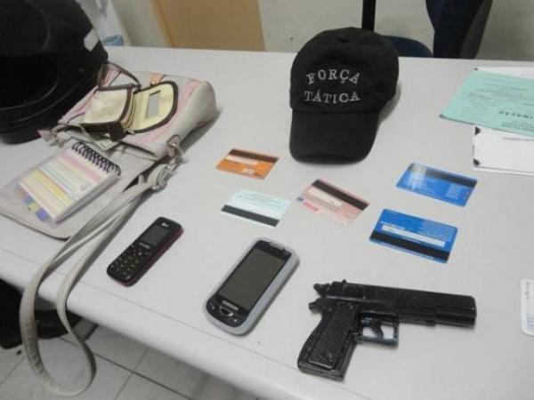 Dupla assalta grávida com arma de brinquedo no PI